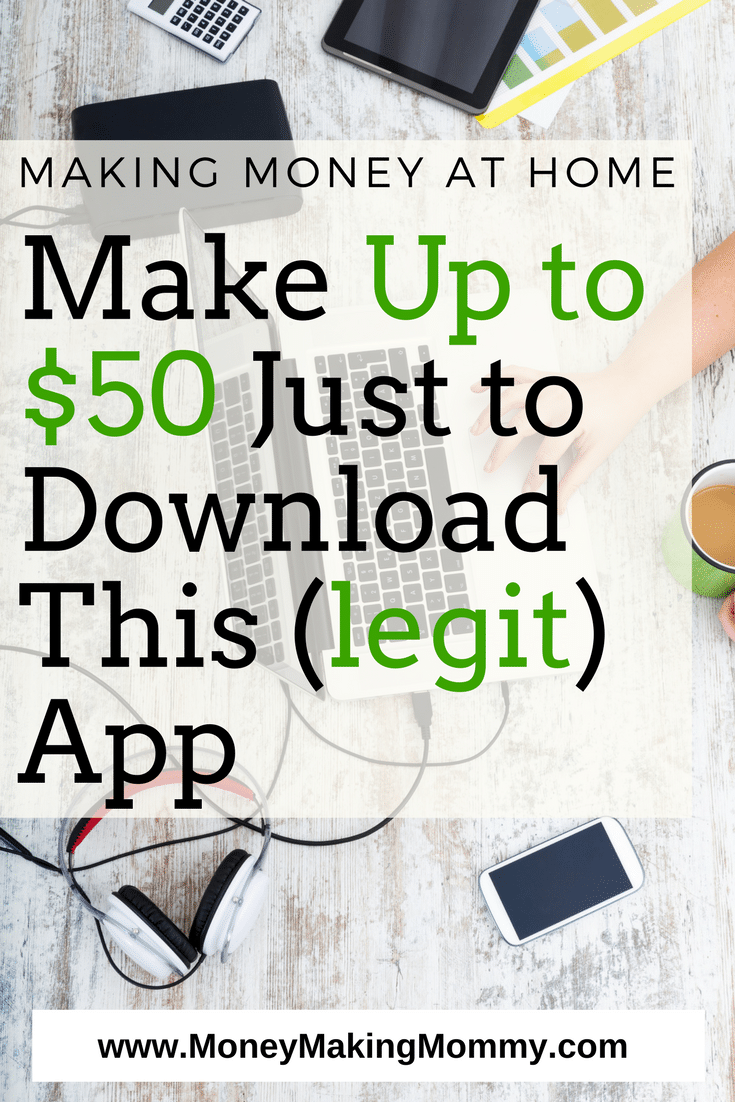 You can earn up to $50 a year using this legitimate app. You don't have to do anything - just download it -- get the details.