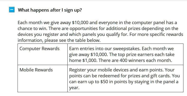 Nielsen Rewards Survey App