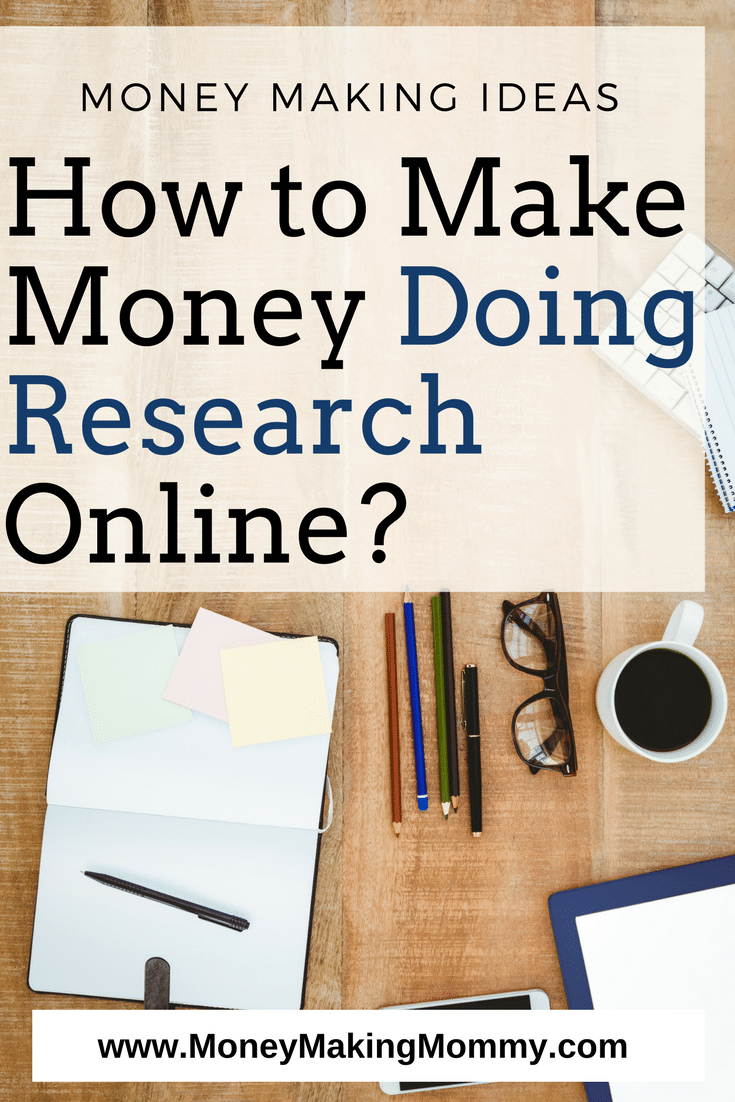 Here's a great list of online research jobs that you can do from home. Another great idea for making money from home.