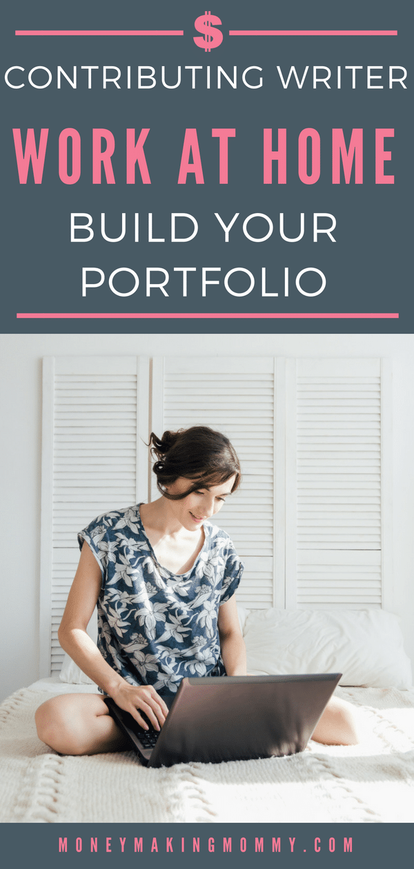 Get exposure and build your writing portfolio by becoming a Patch.com Contributing Writer. Learn more about applying and the perks that come with it. - MoneyMakingMommy.com - https://www.moneymakingmommy.com/earn-money-create-portfolio-patch-com/ #writerjobs #writing