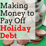 Holiday Debt: Make Cash Online to Pay it Off Now!