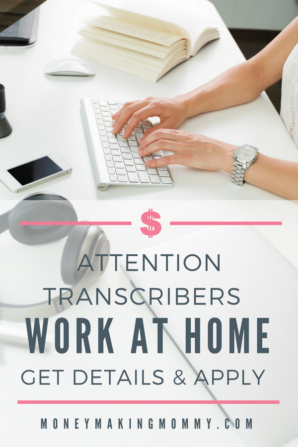 Calling all transcribers that are looking for projects that they can do from home - get details! - MoneyMakingMommy.com - https://www.moneymakingmommy.com/transcript-divas-hiring-transcribers/ #transcriptionjobs #transcriptionjobsfromhome