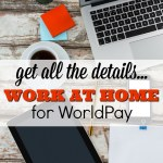Start a New Home Based Career at Worldpay