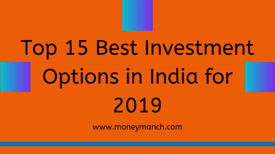 Top 5 investment options in india