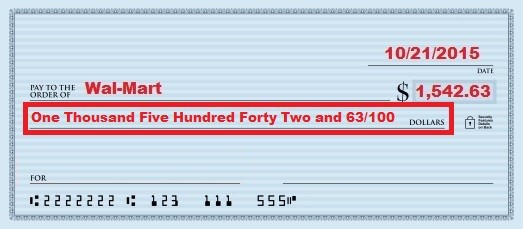 How to write a check for 100 howsto how to write a check in six simple steps with pictures ccuart Image collections