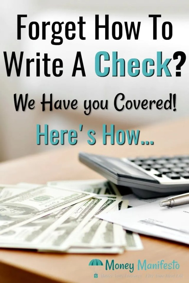 How to Write a Check - An Example With Six Easy Steps & Pictures