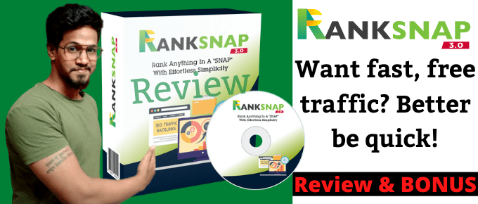 Ranksnap 3.0 Review – Secrets of top-earning affiliates