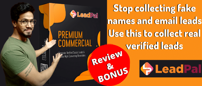 LeadPal Review – Get 1-click verified social leads