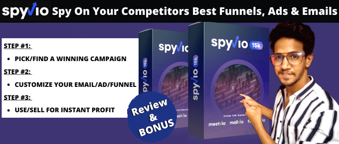 Spyvio Review – Collect Ads As You Browse Facebook & Google