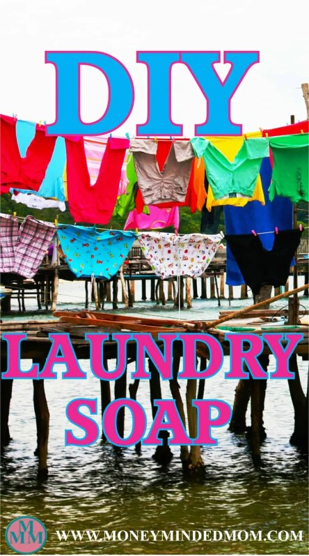DIY Laundry Soap ~ Making your own laundry detergent is a great way to save a bunch of money every year. It cost literally pennies on the dollar compared to store bought detergent. Read on to learn how to make your own.