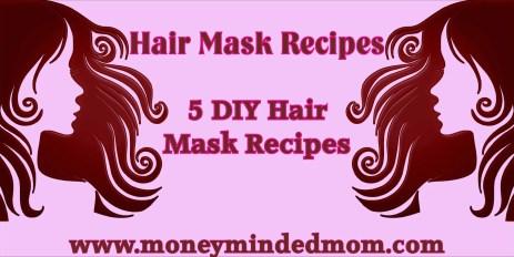 DIY Hair Mask Recipes
