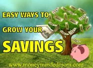 Easy Ways To Grow Your Savings