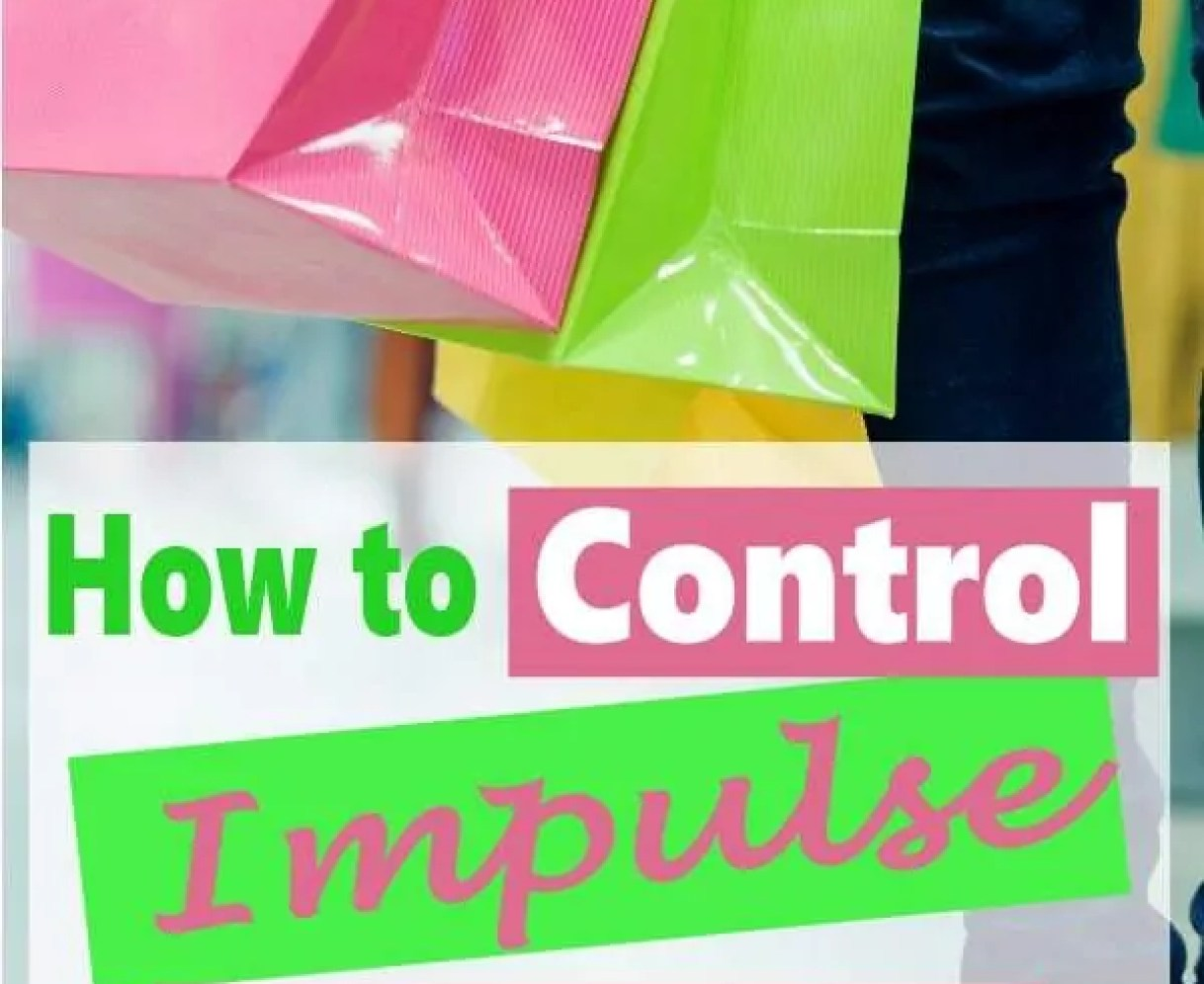 How to control impulse buying