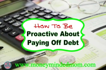 How to be Proactive about Paying Off Debt