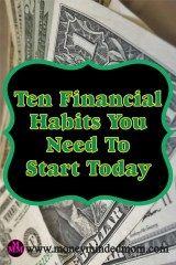 Ten Financial Habits You Need to Start Today