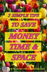 7 Simple Tips to Save Money Time and Space
