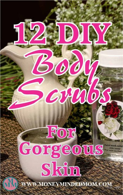 12 DIY Body Scrubs - Body scrubs are a great way to exfoliate, hydrate and keep your skin healthy. There are plenty of expensive products out there, but you do not have to spend a bunch of money to have gorgeous skin. Click to get 12 easy and inexpensive body scrub recipes