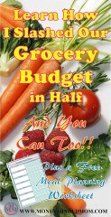 Learn all the steps I took to slash our families grocery budget in half. If I can do this, anybody can. Read on to do the same.
