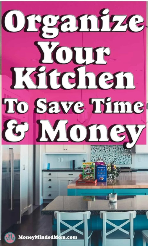 Get Organized In Your Kitchen ~ Getting organized in the kitchen is really a necessity if you are to work efficiently and quickly. Plus it saves money too. No one wants to spend precious family time cooking and cleaning or trying to figure out night after night what's for dinner.