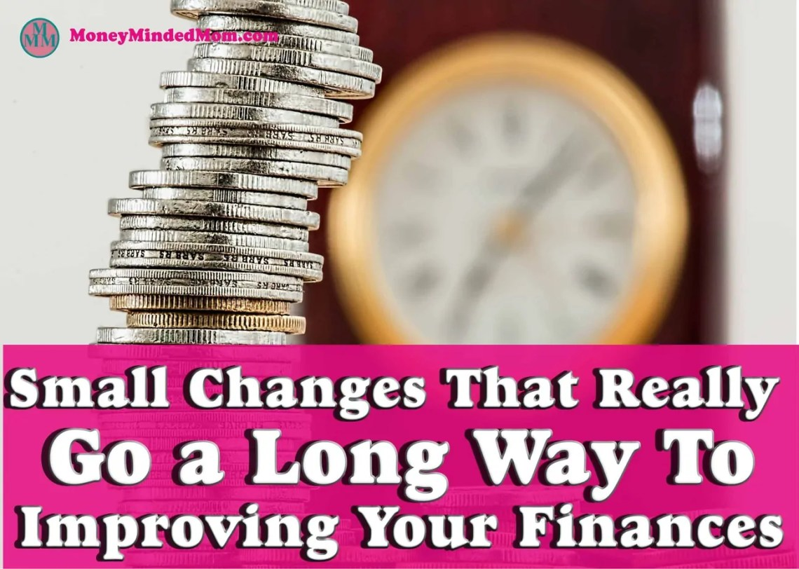 Small Financial Changes That Go a Long Way To Saving Money ~ Small financial changes can really go a long way when it comes to saving money, paying off debt, sticking to your budget and keeping more money in your pockets. Here are some painless ways you can do just that.