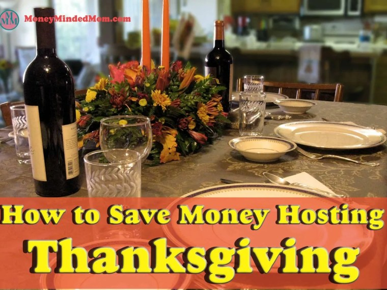 How to Save Money Hosting Thanksgiving ~ Hosting Thanksgiving can also become quite a financial burden, especially if you have a big circle of family and friends coming over. For this reason, I put together some tips that will help you save more money while planning your perfect get together.