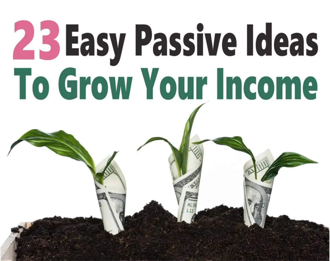 Easy Passive Income Ideas To Create Multiple Income Streams