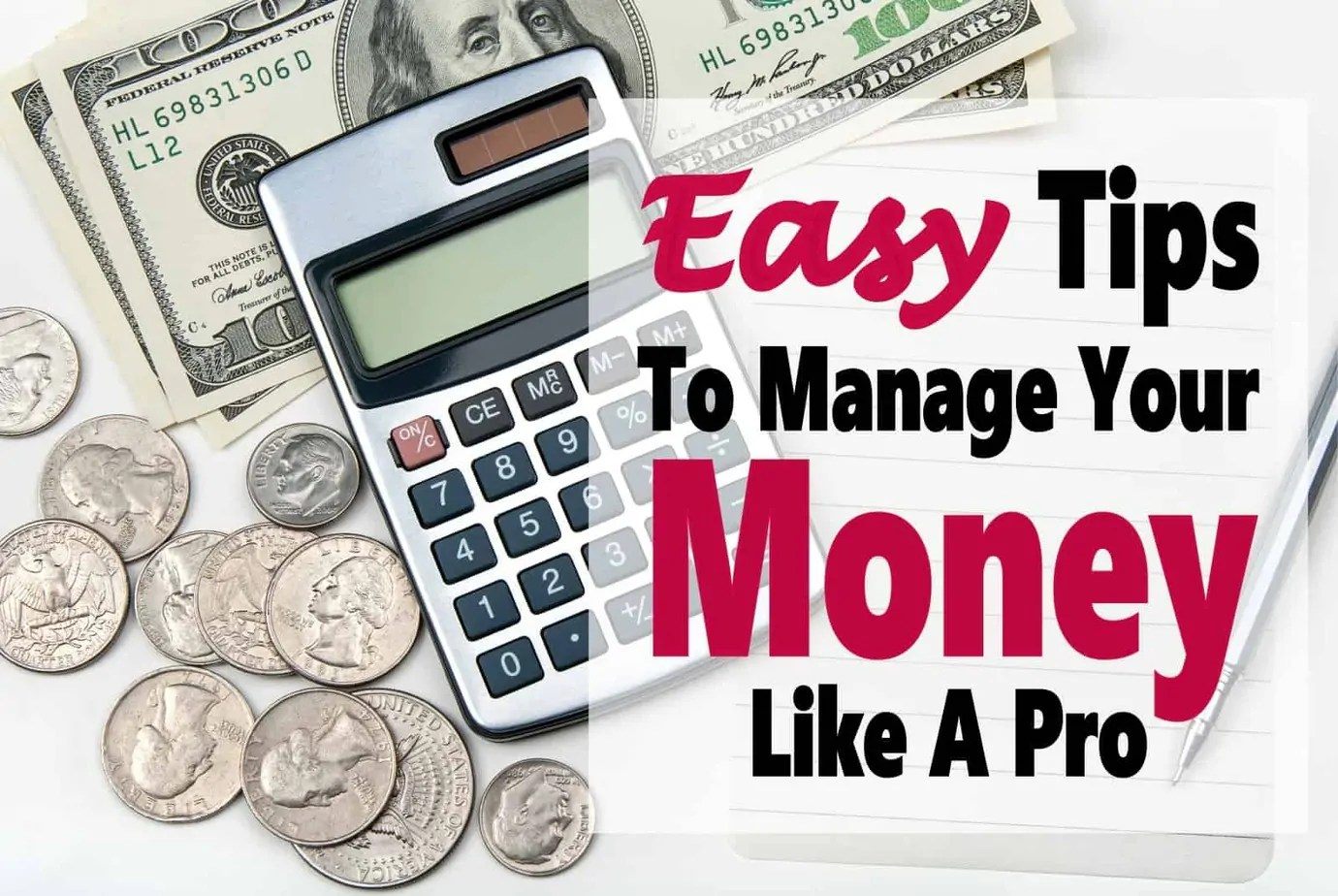 5 Tips to Manage Your Finances Like A Pro
