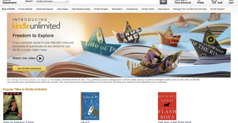 Kindle Unlimited Sharing