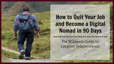 How to quit your job and become a digital nomad in 90 days