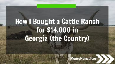 Photo of How I Bought a 98 Acre Cattle Ranch for $14,000 in Georgia (the Country)