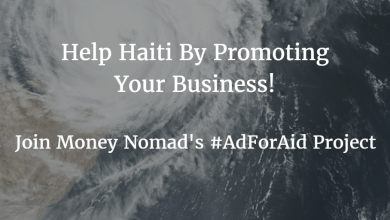 Photo of How to Help Haiti: Advertise on Money Nomad #AdForAid