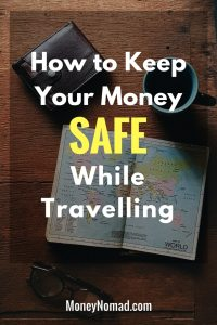 Pinterest - How to Keep Your Money Safe While Travelling