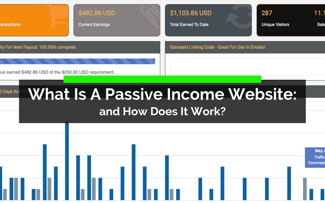What Is A Passive Income Website and How Does It Work?