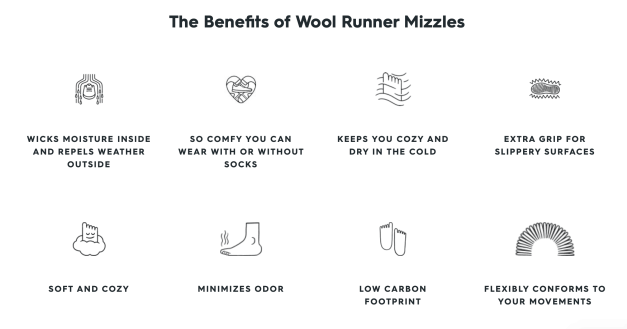 Allbirds Mizzle Benefit
