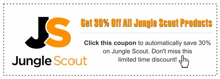 Click this coupon and save 30% on Jungle Scout