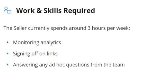 Work Required For Affiliate Website