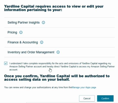 YardLine Capital User Access