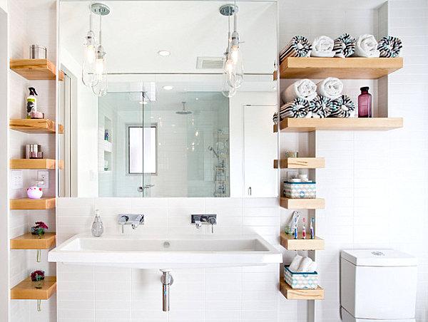 Bathroom storage and organization