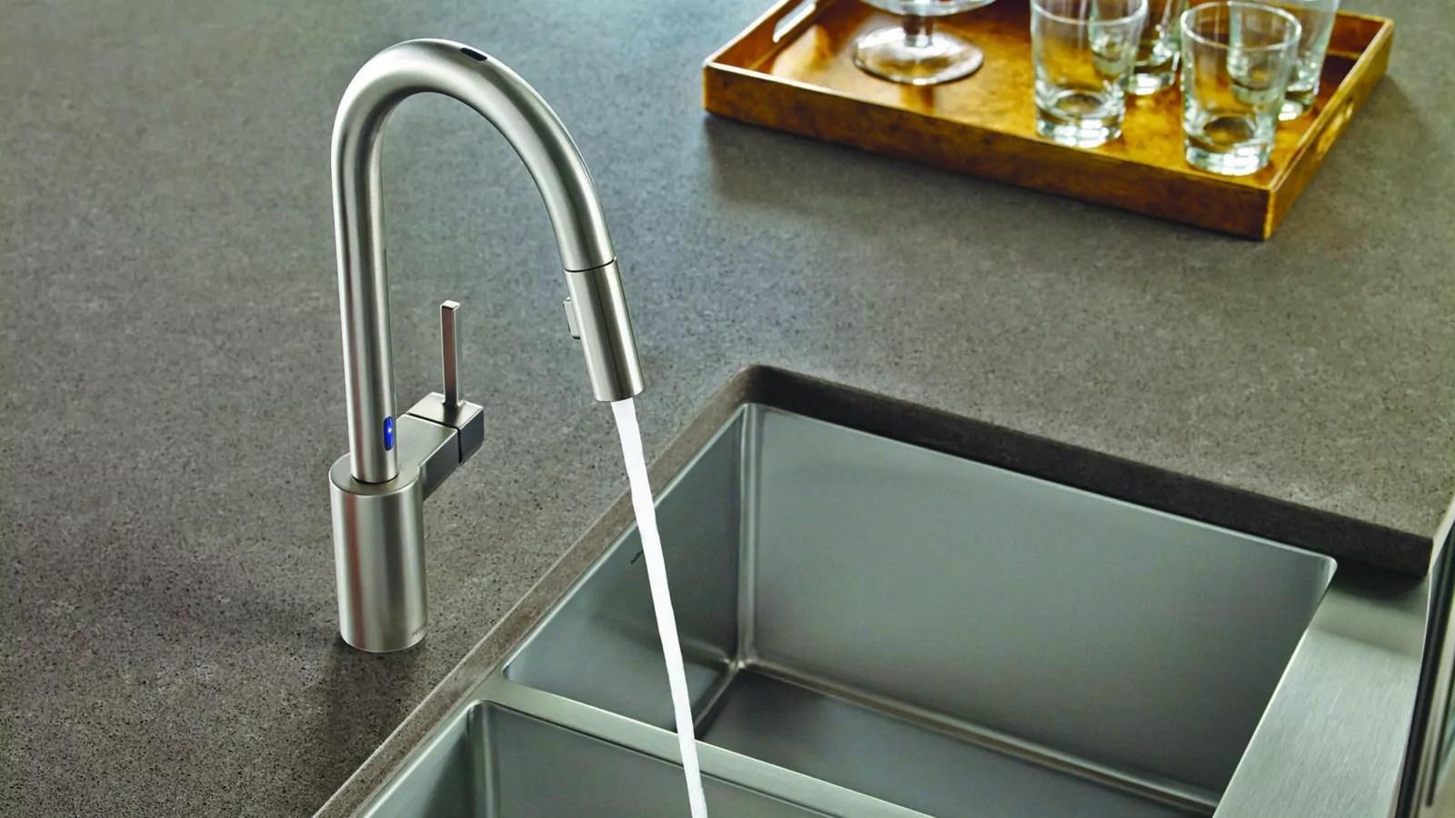moen motionsense kitchen faucet