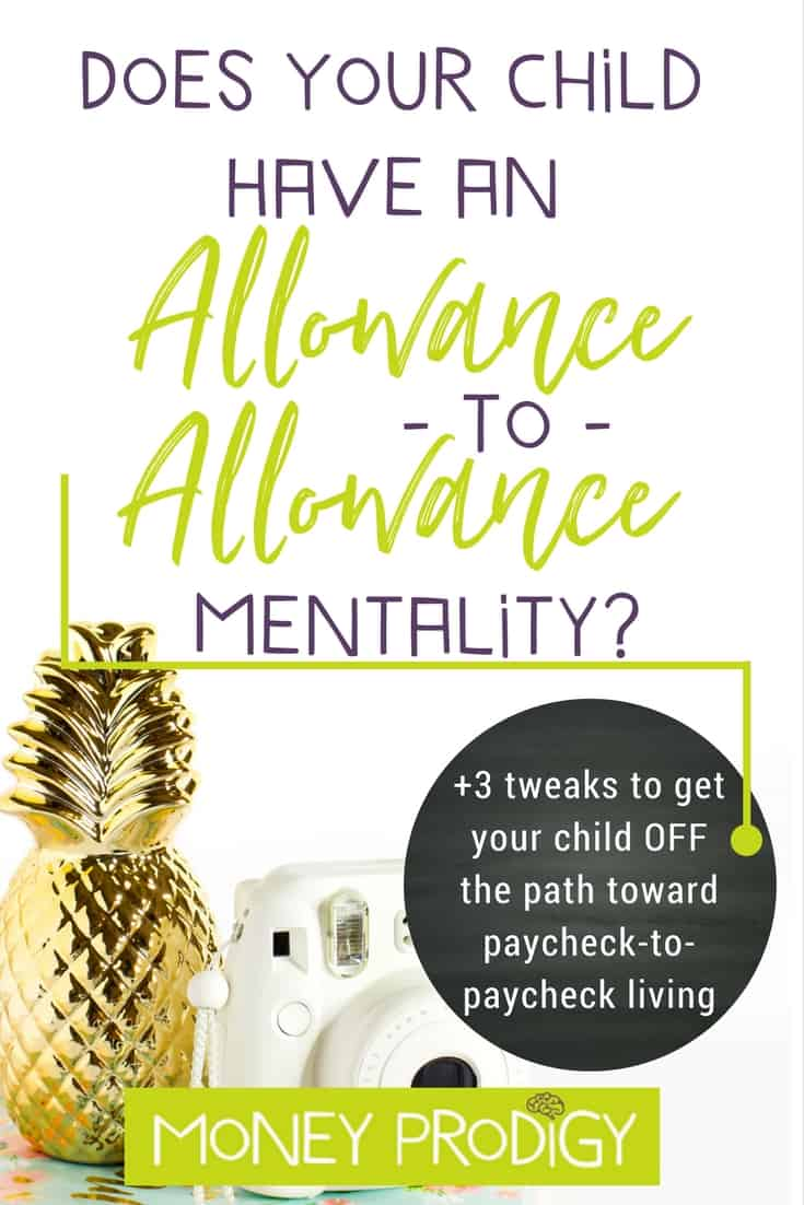 Does your kid have an allowance-to-allowance mentality? Saving money for kids doesn't have to be hard. Teach kids this vital life skills set BEFORE they head down the path of paycheck-to-paycheck living. |  http://www.moneyprodigy.com/saving-money-for-kids/