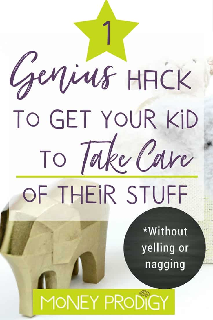Wondering how to get kids to listen, Mom (hint: WITHOUT yelling)? While I certainly don't have a parenting handbook, I did happen to run across this genius hack for getting your kids to listen to you about taking care of their belongings. |