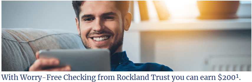 Rockland Trust Bank $200 Checking Bonus