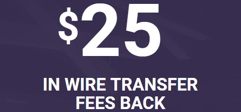 TradeKing $25 Wire Transfer Fee Bonus
