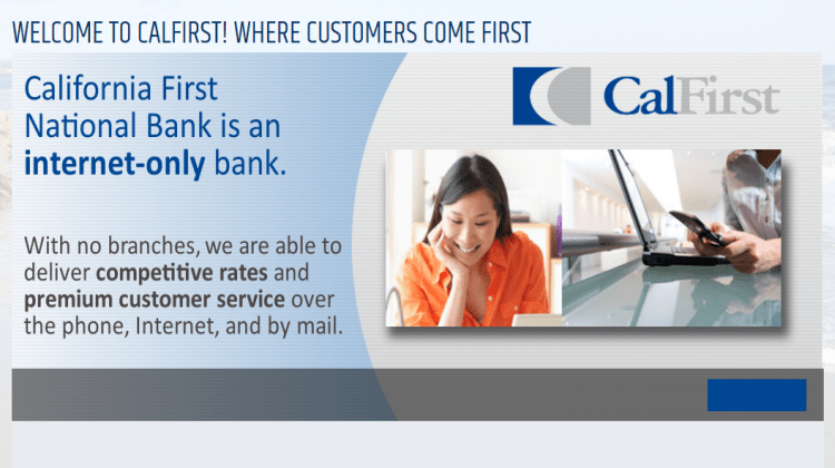 California First National Bank Promotions