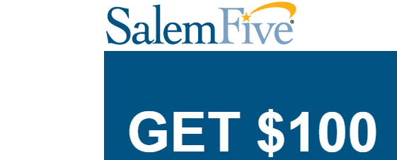 SalemFive Checking $100 Bonus