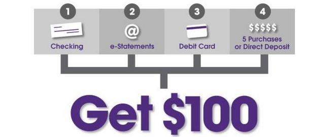 Orange County Credit Union $100 Bonus