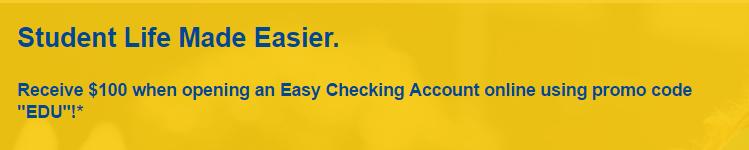 Republic Bank $100 Checking Bonus