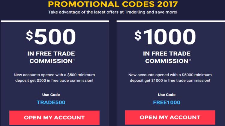 TradeKing Promotions