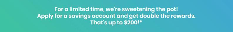Brightpeak Financial $200 Savings Bonus