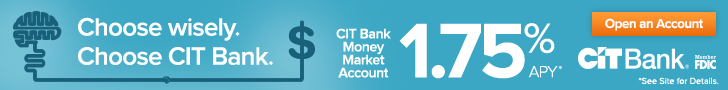 CIT Bank Money Market Promotion